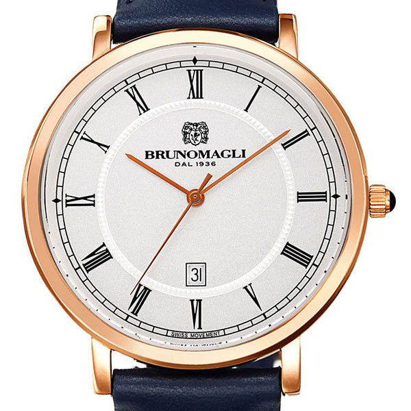 Milano 1201 Men's Watch - Navy Blue