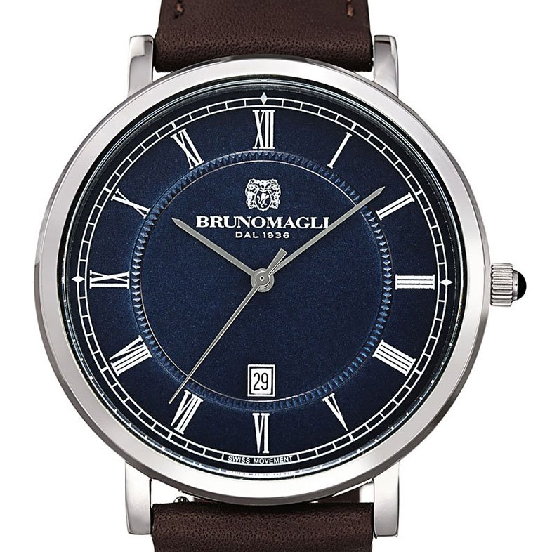 Milano 1201 Men's Watch - Medium Brown