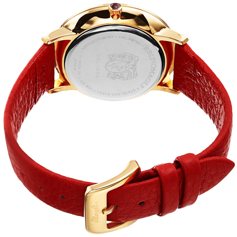 Women's Roma Watch - Orange & Gold