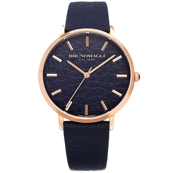 Women's Roma Watch - Deep Purple & Rose Gold