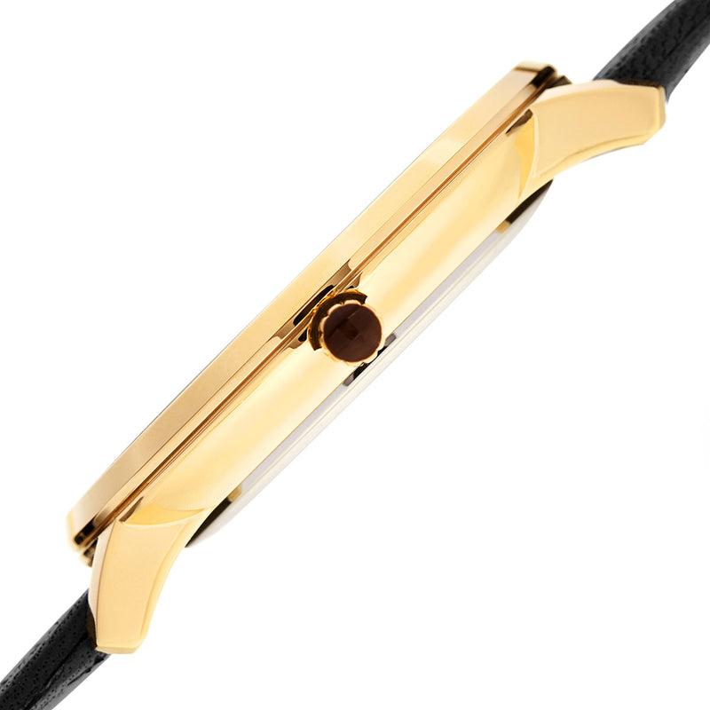 Roma 1221 Watch, Black Strap