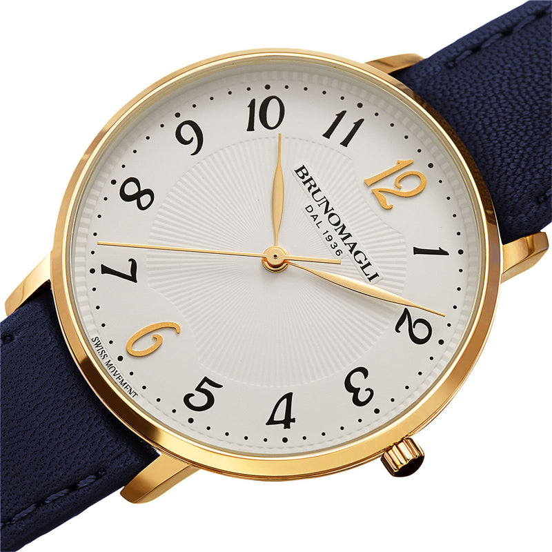 Roma 1221 Watch, Blue Strap