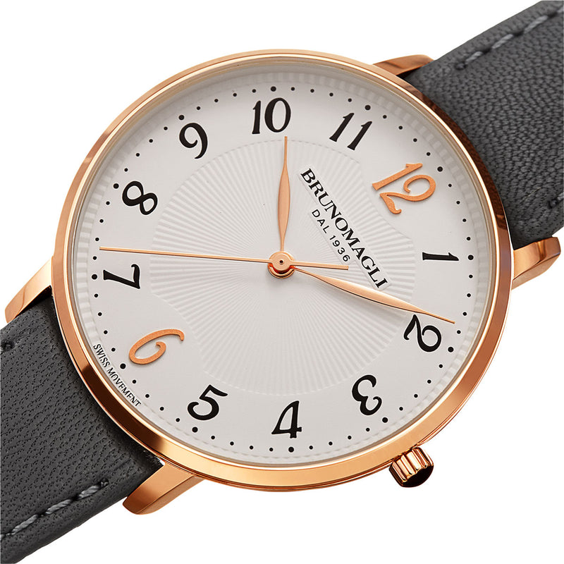 Roma 1221 Watch, Gray Strap