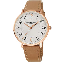 Roma 1221 Watch, Brown Strap
