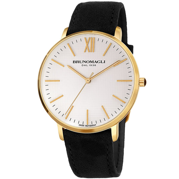 Roma 1222 Watch, Black Strap