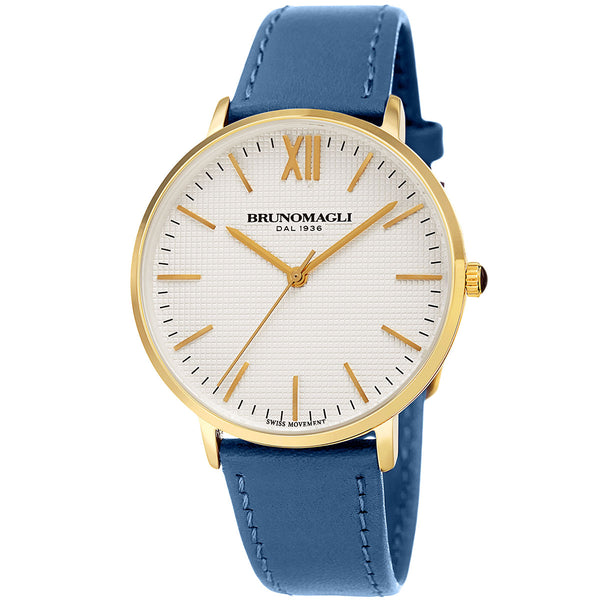 Roma 1222 Watch, Blue Strap