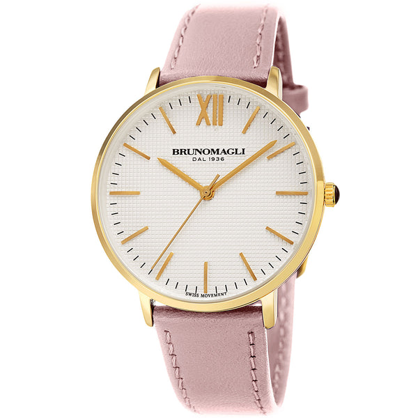 Roma 1222 Watch, Blush Pink Strap