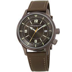 Men's Vittorio Watch - Gunmetal/Khaki Green