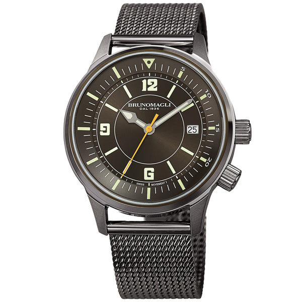 Men's Vittorio Watch - Gunmetal/Gunmetal