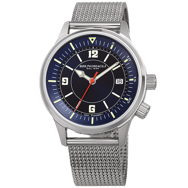 Men's Vittorio Watch - Silver-Tone/Silver