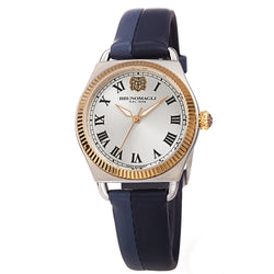 Women's Lucia 1341 Watch - Gold and Silver/Blue