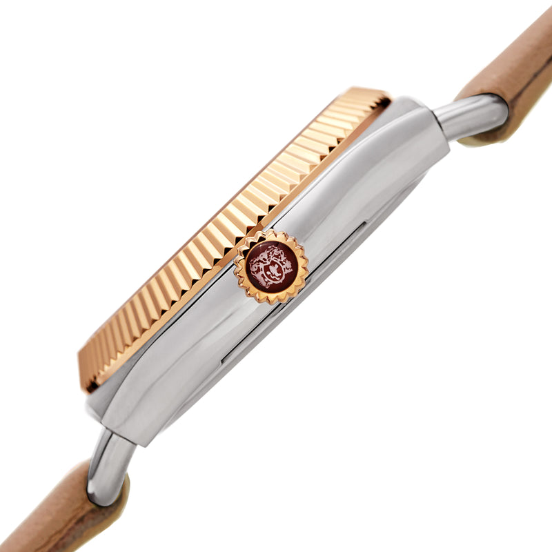 Women's Lucia 1341 Watch - Gold and Silver/Nude