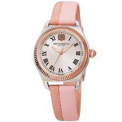 Women's Lucia 1341 Watch - Silver and Rose Gold/Pink and Mauve