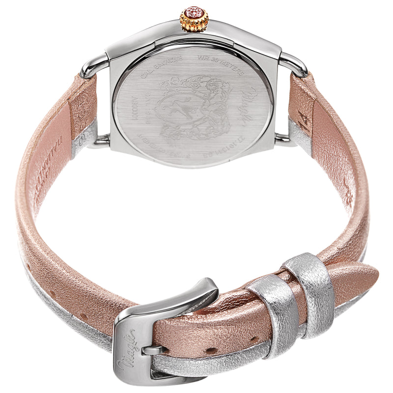 Women's Lucia 1341 Watch - Silver and Gold/Silver and Rose Gold