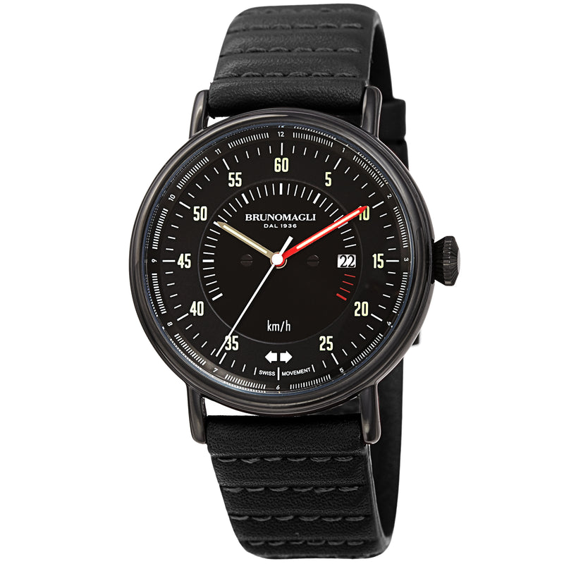 Men's Alex 1361 Watch - Black/Black