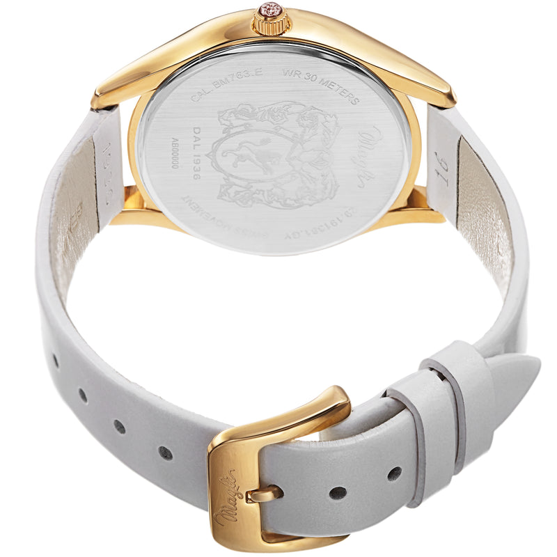 Women's Alessia 1381 Watch - Gold-Tone/White