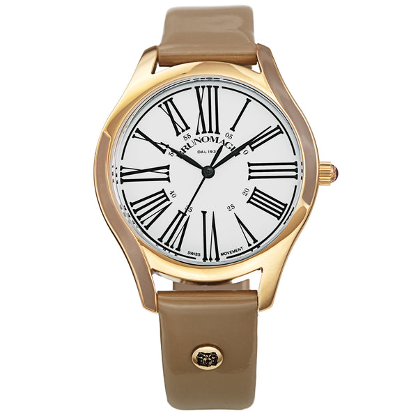Women's Alessia 1381 Watch - Gold-Tone/Grey