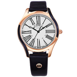 Women's Alessia 1381 Watch - Rose Gold-Tone/Navy