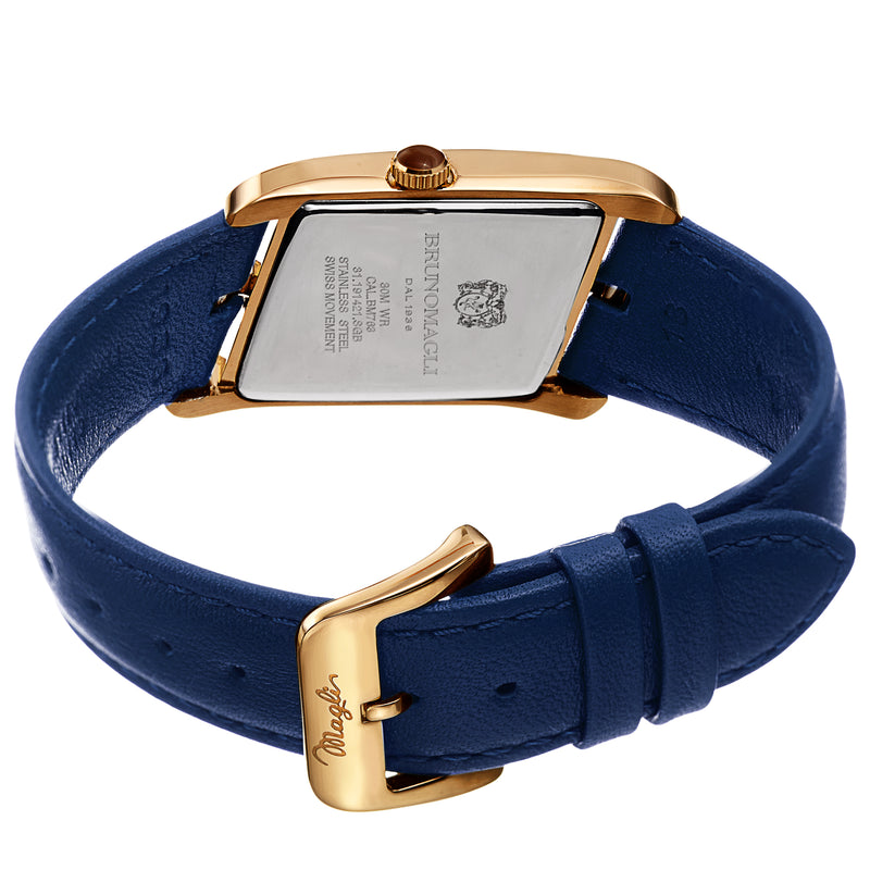 Women's Sofia 1421 Watch - Gold-Tone/Cobalt Blue