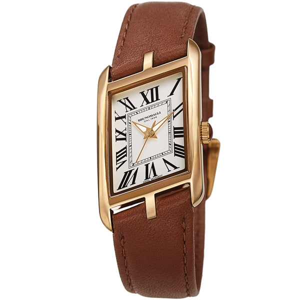 Women's Sofia 1421 Watch - Gold-Tone/Luggage
