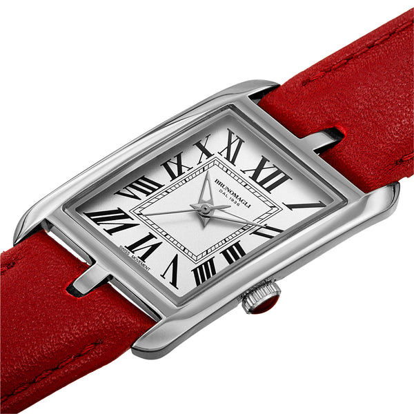 Women's Sofia 1421 Watch - Silver-Tone/Red