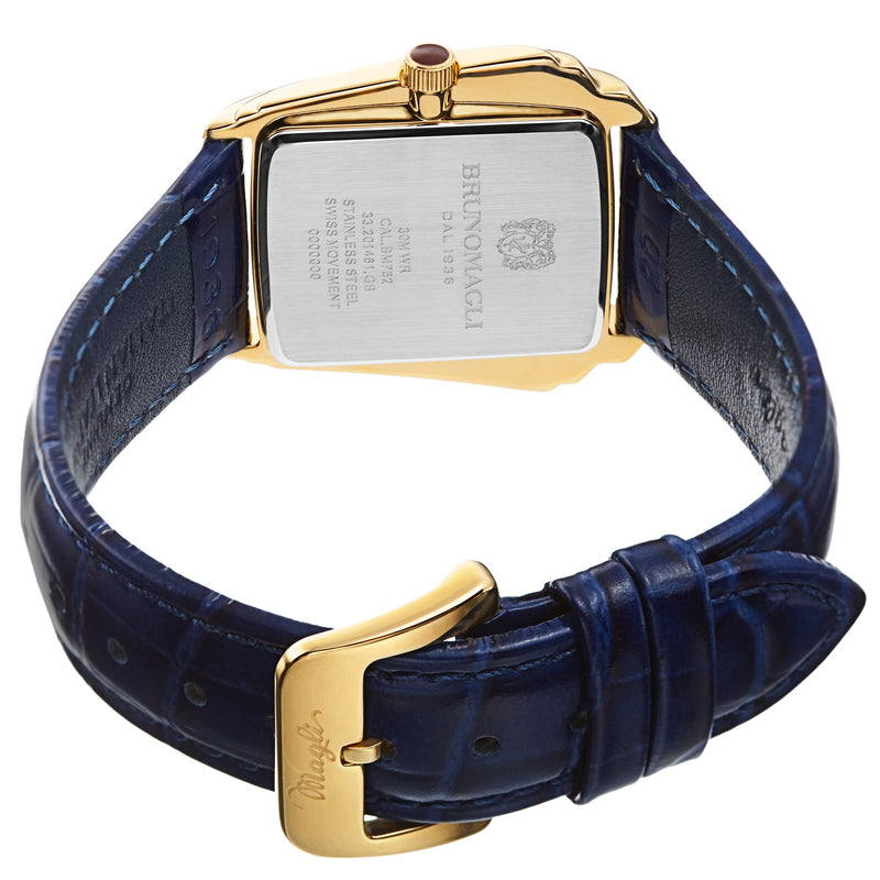 Women's Vera 1461 Watch - Gold-Tone/Blue
