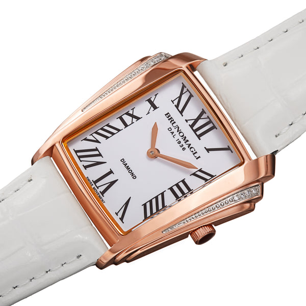 Women's Vera 1461 Watch - Gold-Tone/White