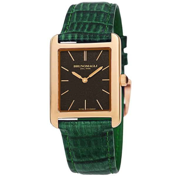Women's Giulia 1501 Watch - Gold-Tone/Hunter Green