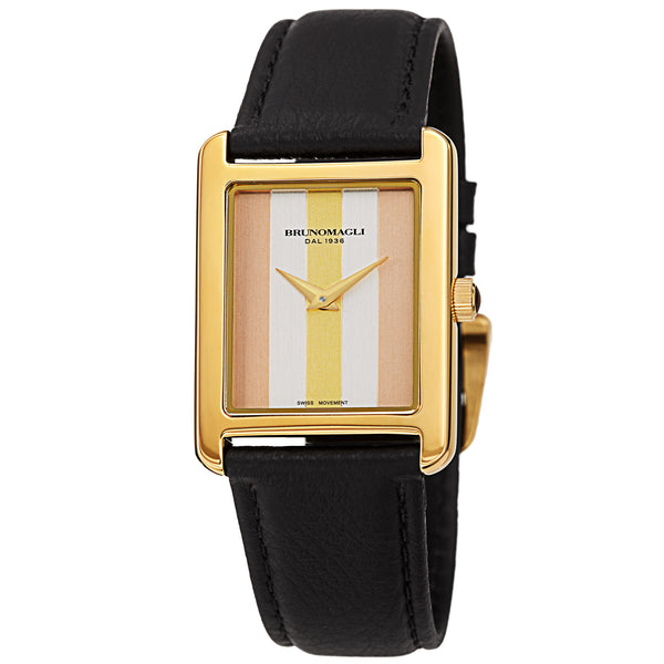 Women's Giulia 1502 Watch - Gold-Tone/Black