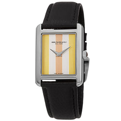 Women's Giulia 1502 Watch - Silver-Tone/Black