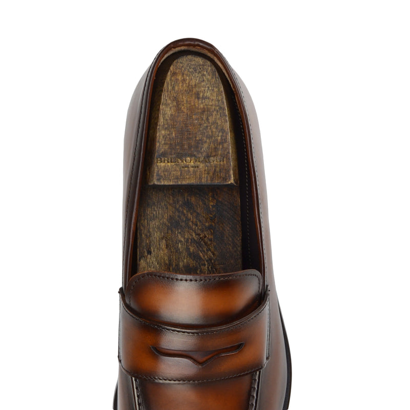 Birch Shoe Tree (Pair) - Brown Stain