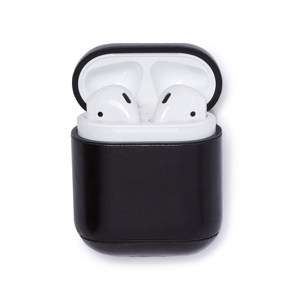 Leather AirPods Case - Black - Soho Exclusive