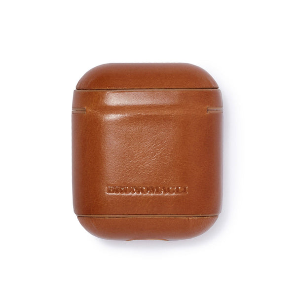 Leather AirPods Case - Camel - Online Exclusive