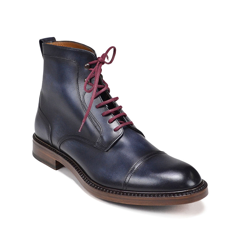 Antonio Boot - Soho Exclusive - Navy Leather