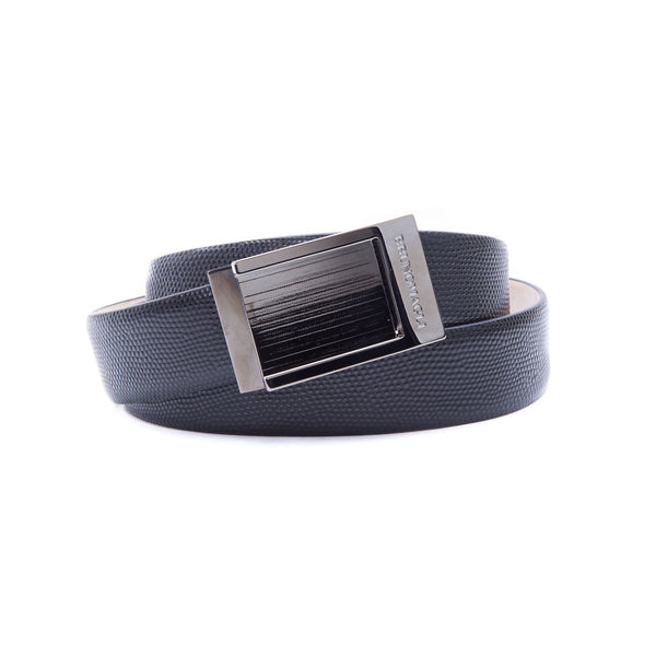 Sleek Leather Men's Belt