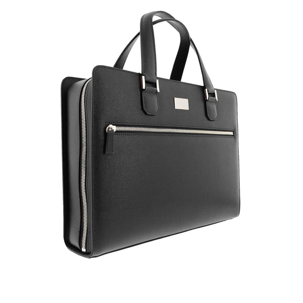 Neoclassico Large Briefcase - Black