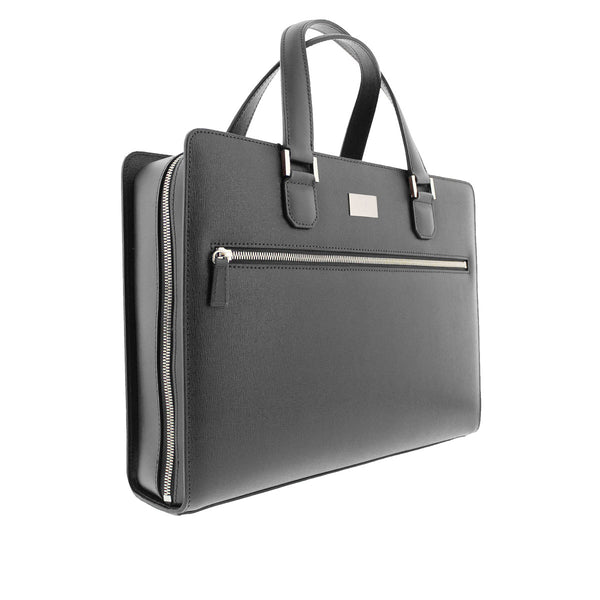 Neoclassico Large Briefcase - Grey