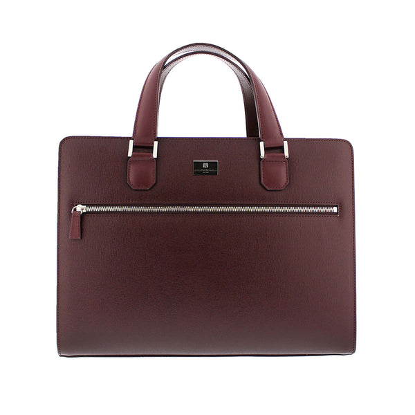 Neoclassico Large Briefcase - Wine