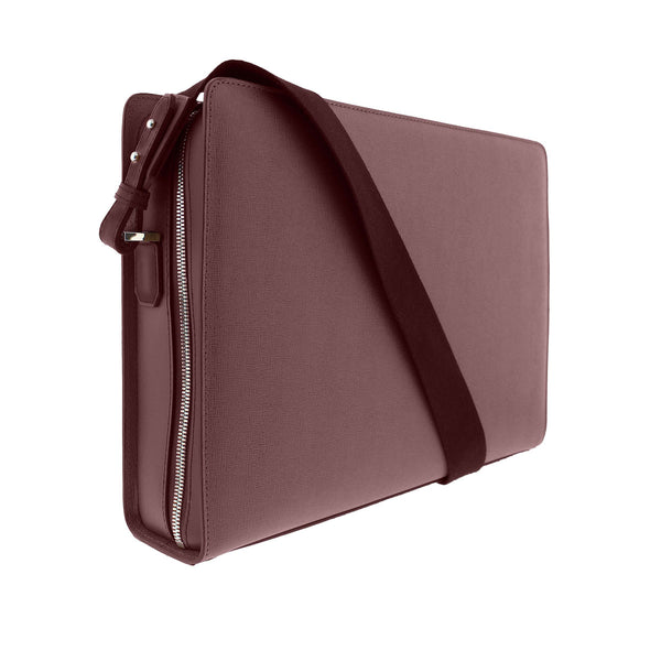 Neoclassico Messenger Bag - Wine