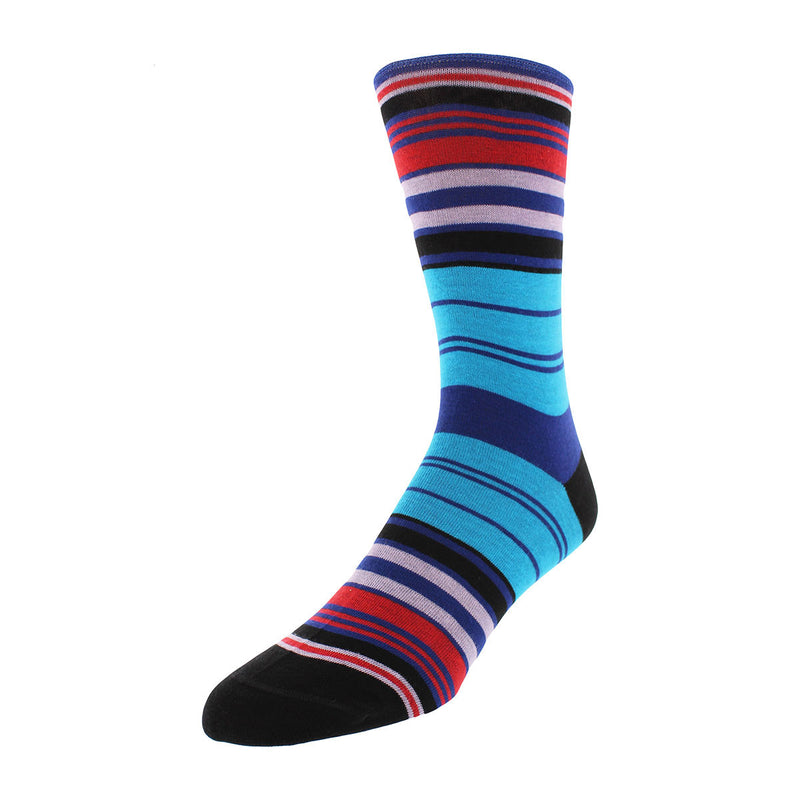 Multi Striped Dress Socks