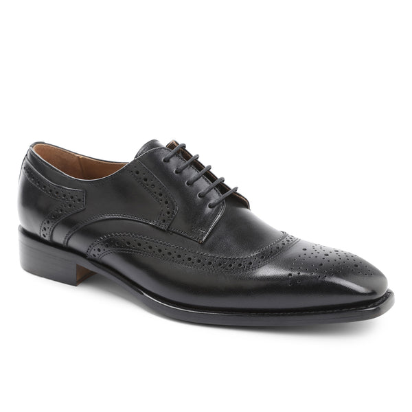 Gigilo Wing-Tip Oxford - Black
