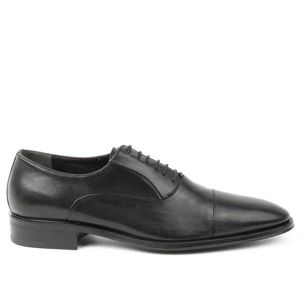 Maioco Leather Oxford - Black
