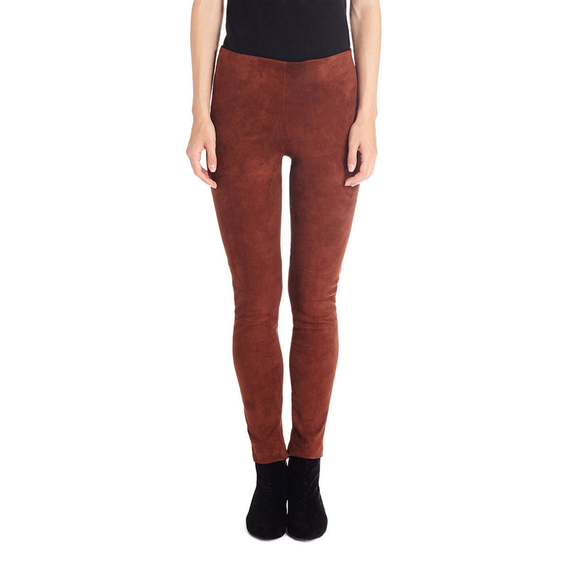 Martina Stretch Suede Trouser