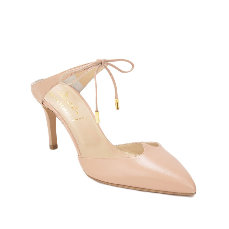 Aileen Pump, 3-inch - Nude Leather