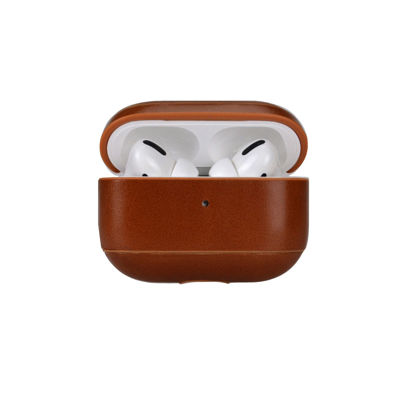 Nappa Leather AirPods Pro Case - Camel