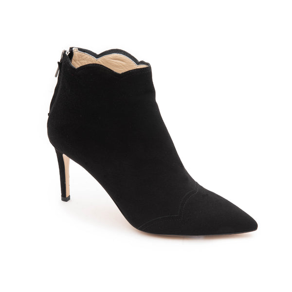 Alice Women's Bootie - Black Suede