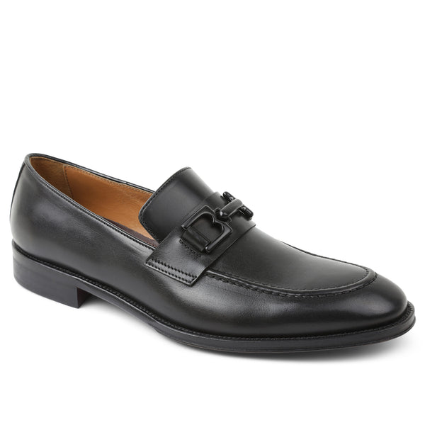 Alpha Classic Bit Loafer - Black