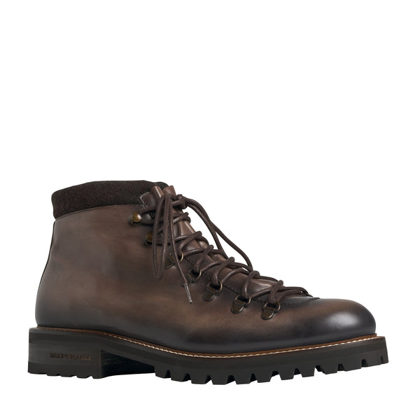 Alpino Leather Hiking Boot - Dark Brown