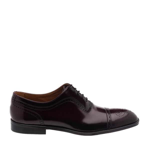 Ancona Cap-Toe Oxford - Bordo