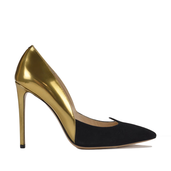Antonia Women's Pumps - Black/Gold - FINAL SALE